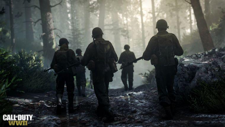 Call of Duty: WWII kadrosu ile tanışın