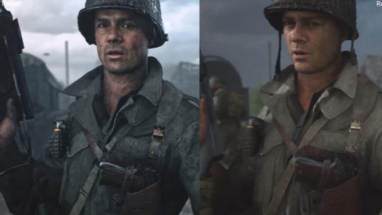 Call of Duty: WWII grafiksel olarak düşürüldü mü?