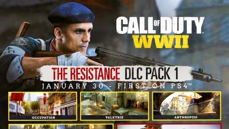Call of Duty: WWII'nin ilk ek paketinden eğlenceli bir fragman geldi