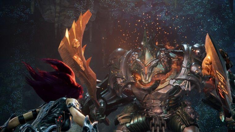 Darksider 3 oynanış videosunda boss savaşına yer verilmiş