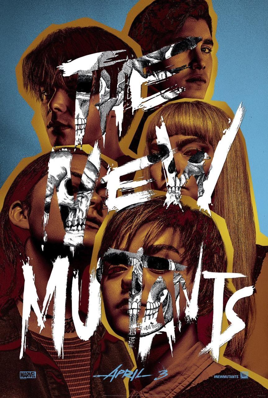 X-Men yan filmi New Mutants için ilgi çekici bir poster yayınlandı