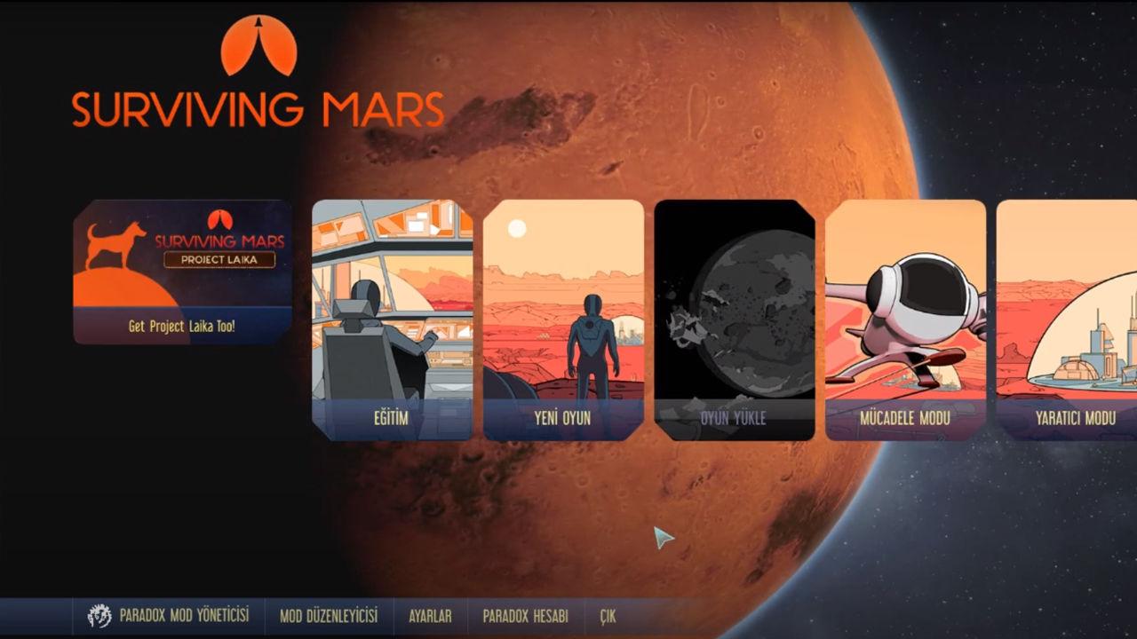 Surviving Mars Türkçe yama