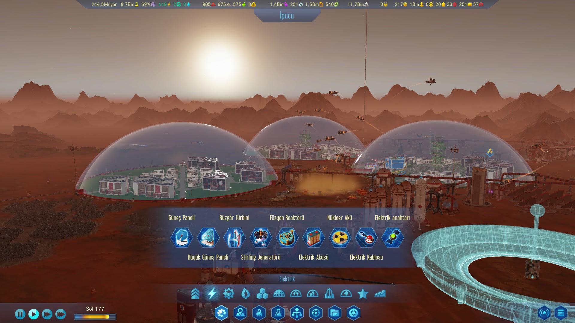 Surviving Mars Türkçe dil desteğine resmi olarak kavuştu