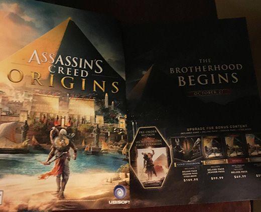 Assassin's Creed: Origins'in şimdi de çıkış tarihi ve yeni detayları sızdı