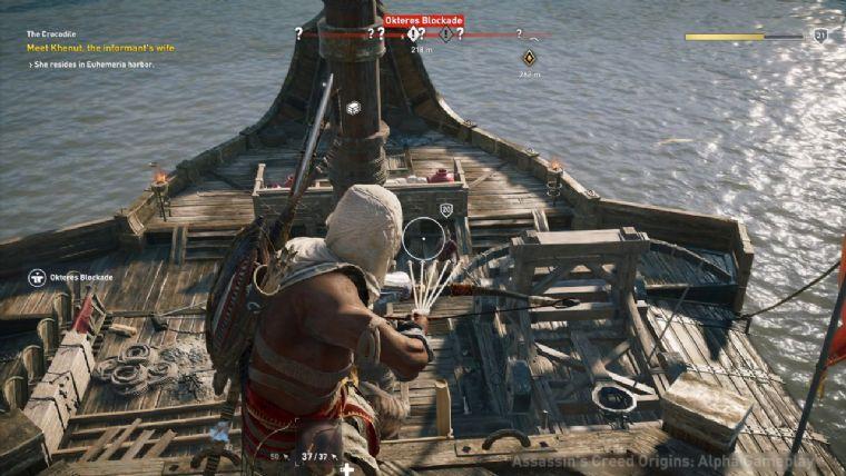 Ubisoft, AC: Origins'te gemi savaşlarının olacağını onayladı