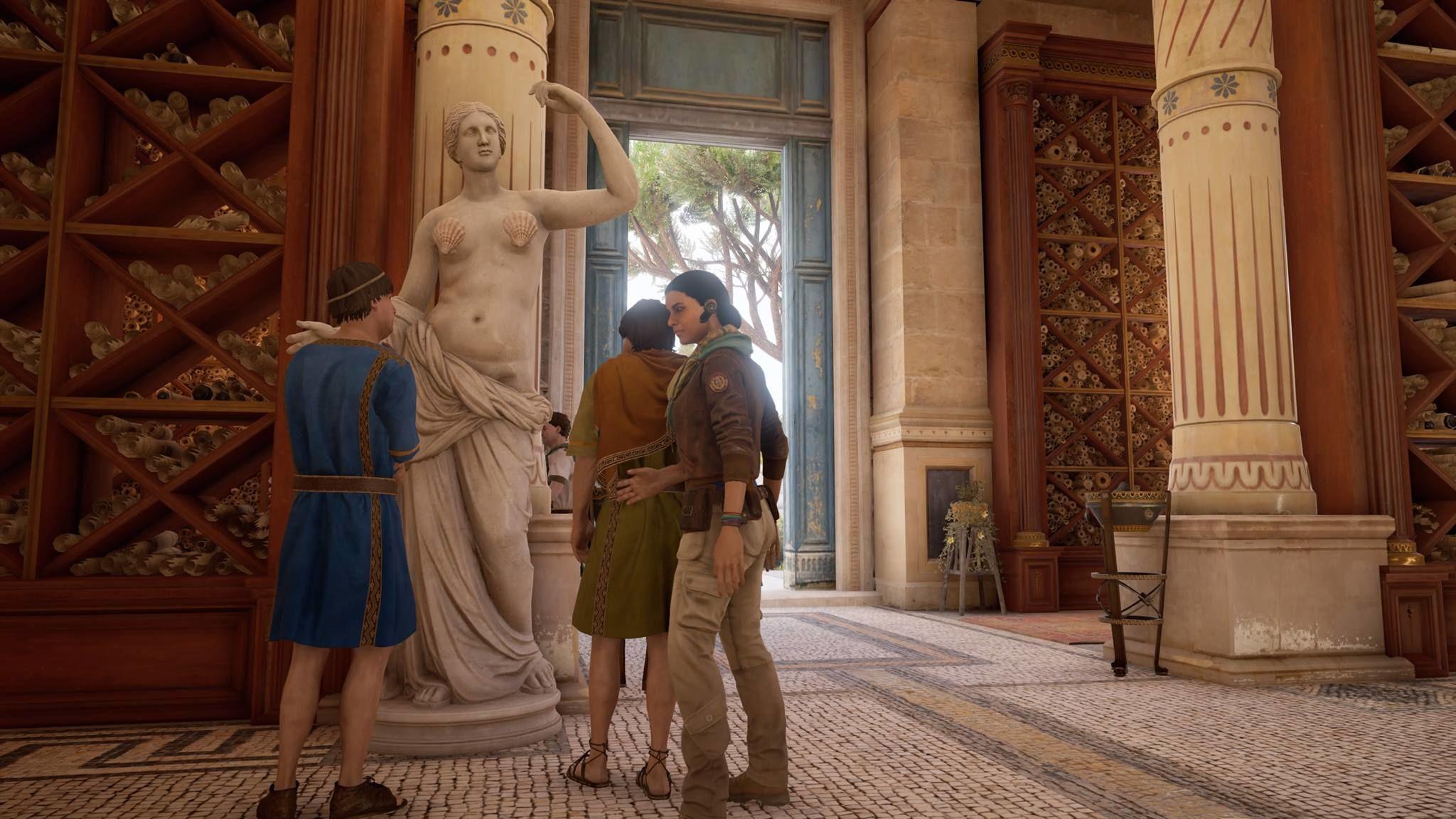 Ubisoft, Assassin's Creed: Origins'teki heykelleri sansürledi