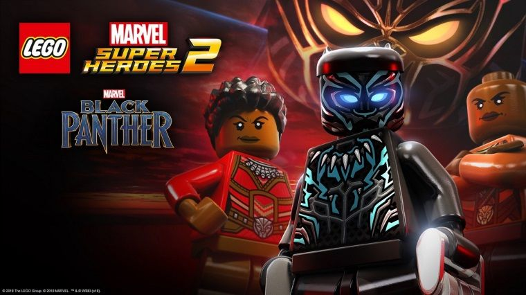 Black Panther sinemadan önce Lego Marvel Super Heroes 2'ye geldi