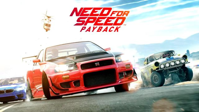 Need For Speed Payback'in E3 videosu geldi