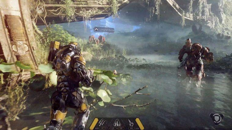 EA Games'in yeni oyunu Anthem sene sonunda piyasada olacak