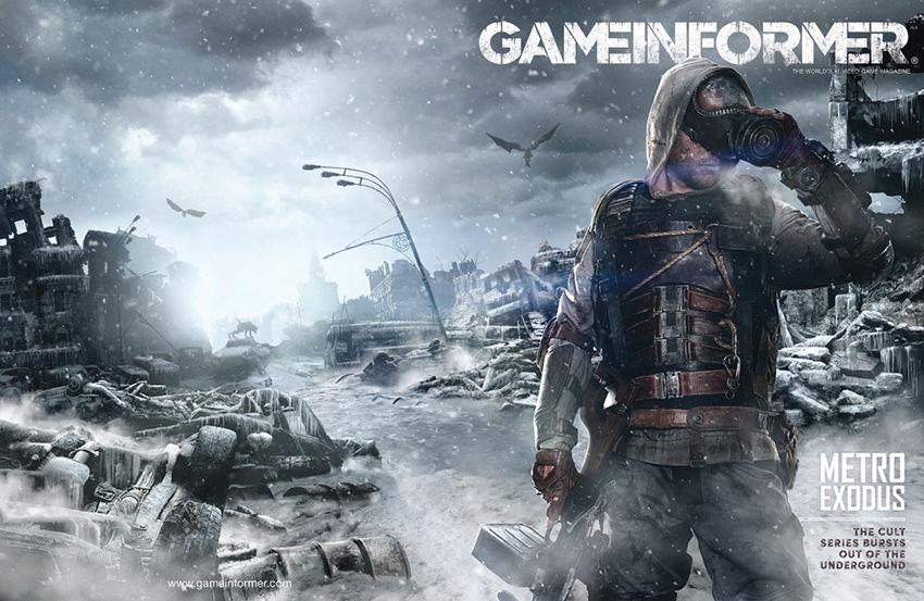 Game Informer kapağını bu sefer de Metro Exodus süslüyor