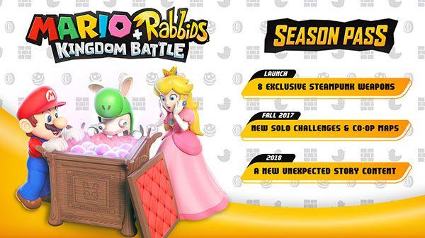 Mario + Rabbids Kingdom Battle'da Season Pass olacak