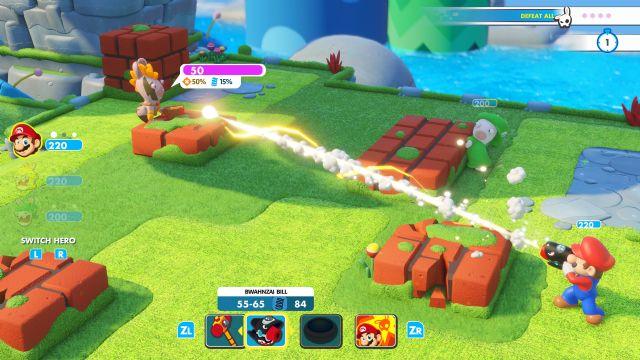 Mario + Rabbids Kingdom Battle'ın Yeni Oynanış Videosu Yayınlandı