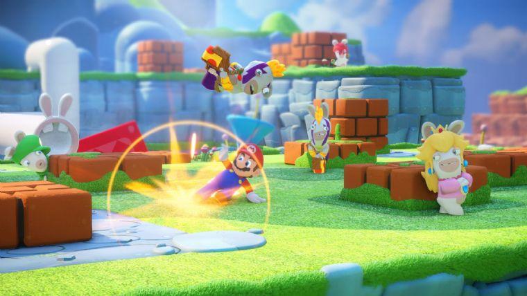 Mario + Rabbids Kingdom Battle için co-op videosu yayınlandı