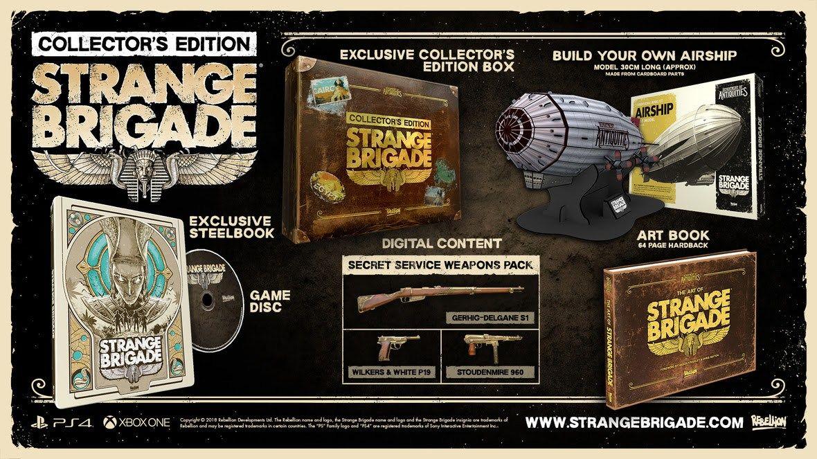 Strange Brigade'in beklenen çıkış tarihi sonunda belli oldu!