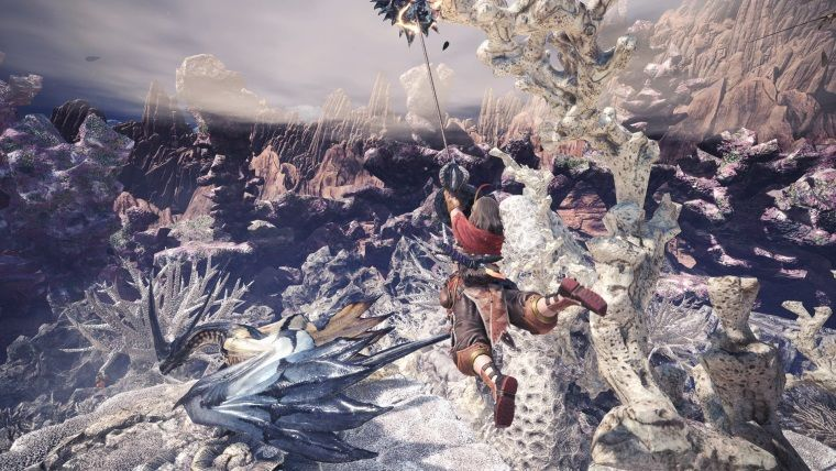 Monster Hunter World Steam'de zirveye oynuyor
