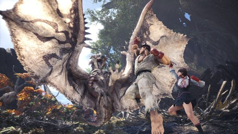 Monster Hunter World'e garip bir crossover geliyor