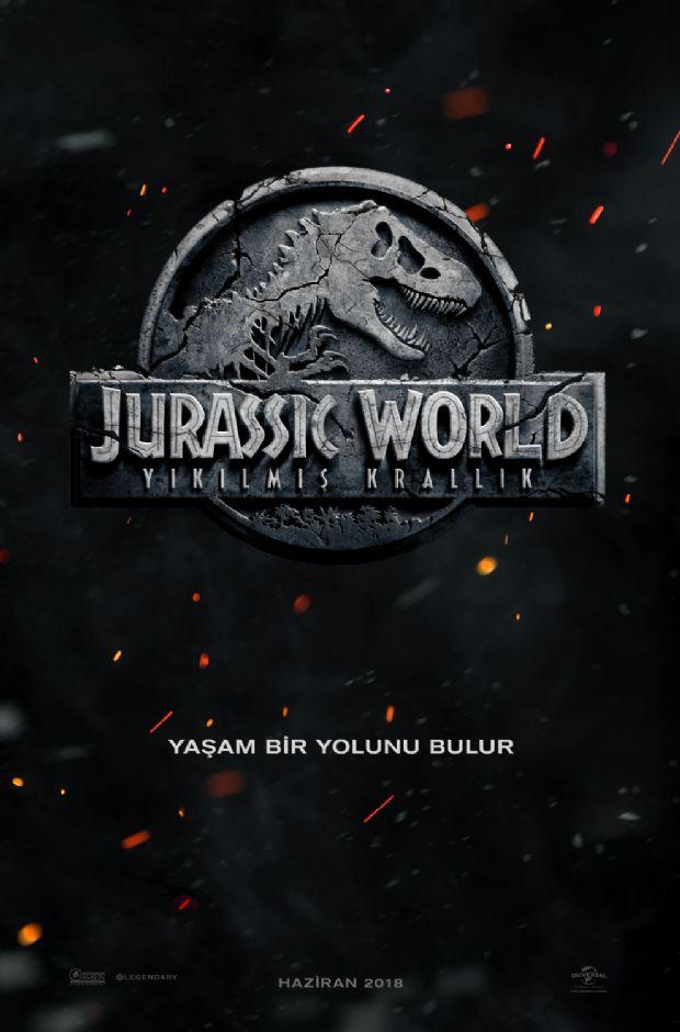 Yeni Jurassic World filmi için Türkçe afiş yayınlandı