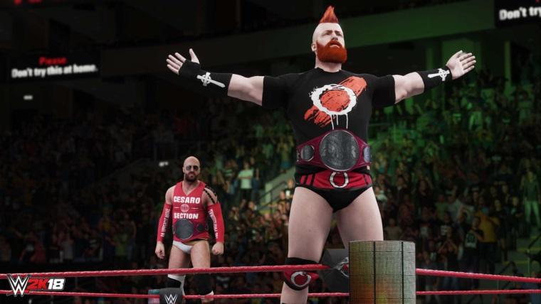 WWE 2K18'in oynanış fragmanı yayınlandı