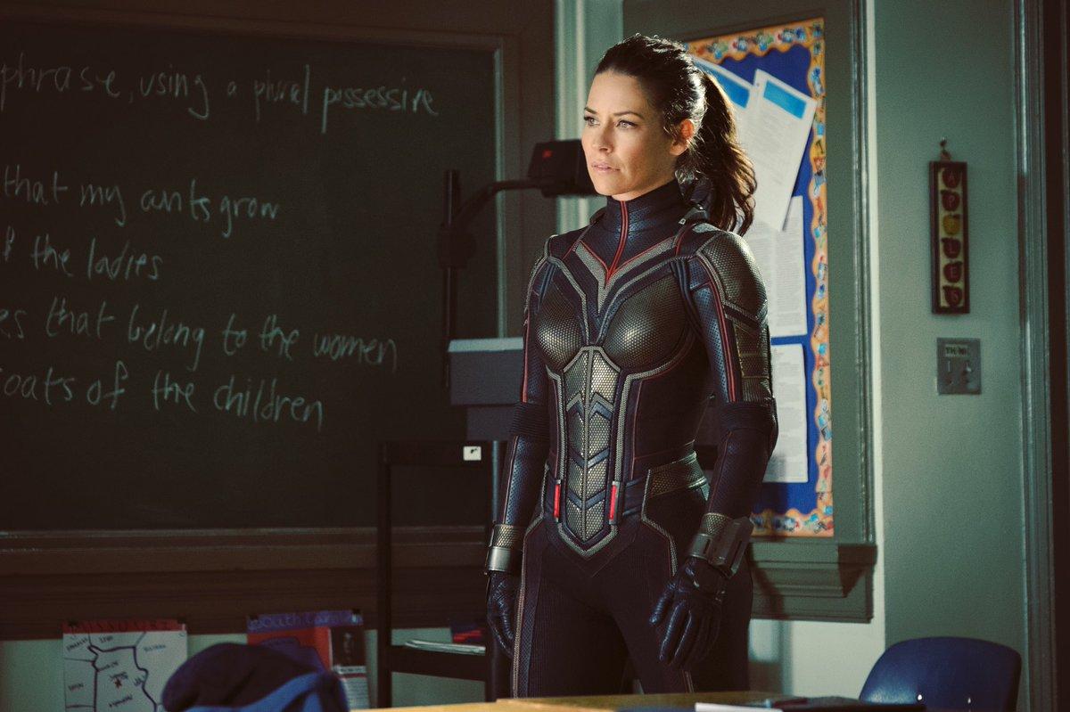 Evangeline Lilly, Wasp olarak nasıl gözüküyor?