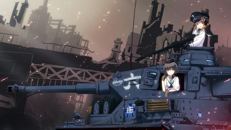 Tankçı kızların İngilizce versiyonu Şubat ayında geliyor