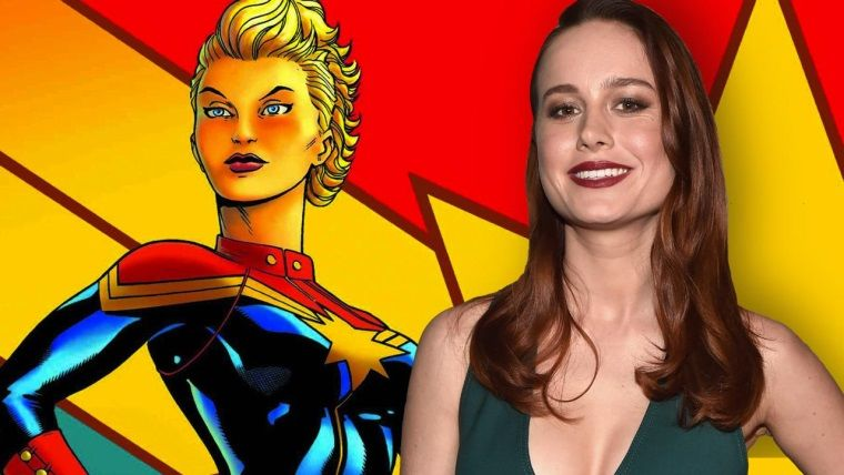 Brie Larson'ı Captain Marvel kostümü içerisinde tekrar görün