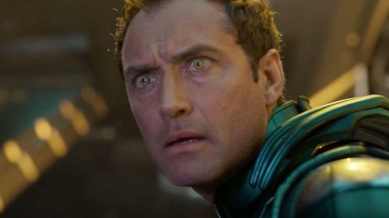 Captain Marvel filminde oynayan Jude Law'ın gizli rolü belli oldu