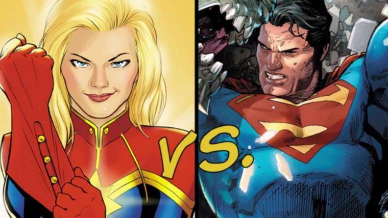 MCU'nun yeni karakteri Captain Marvel, Superman'i dövebilir mi?