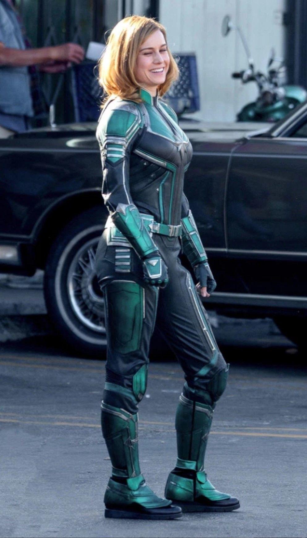 Captain Marvel kostümü ile ilk fotoğrafı yayınlandı