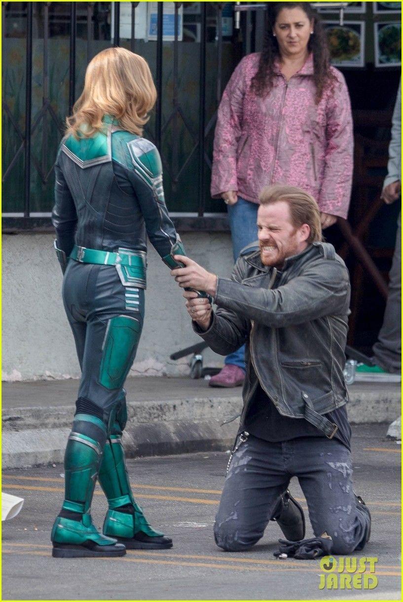 Captain Marvel filminin setinden yeni görüntüler geldi