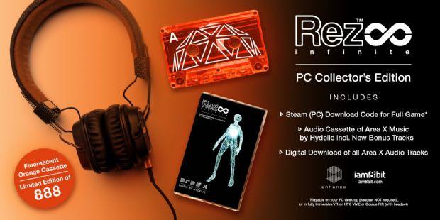 Rez'in özel PC sürümünde kaset veriliyor