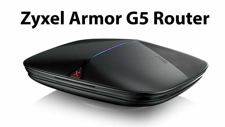 Zyxel Armor G5 Router WiFi 6 gücünü evlere taşıyor