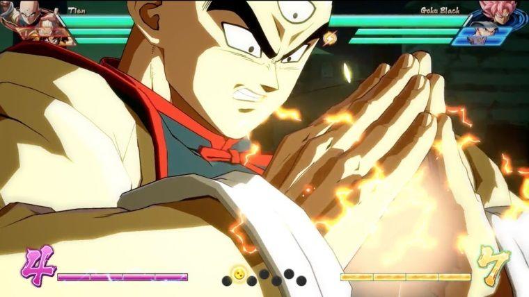 Dragon Ball FighterZ'den Tien'in yetenekleri ortaya çıktı