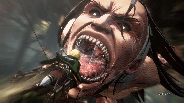Attack on Titan 2'nin Nintendo Switch ve PS Vita fragmanları yayınlandı
