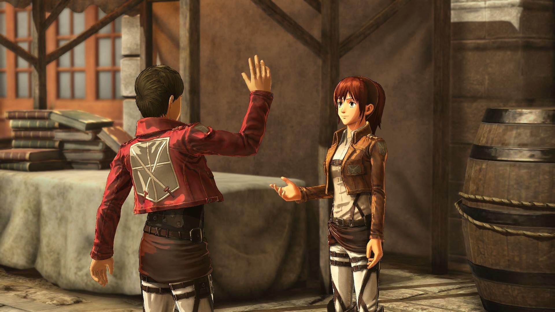 Attack on Titan 2'ye ait yeni bilgiler KOEI Tecmo tarafından yayınlandı