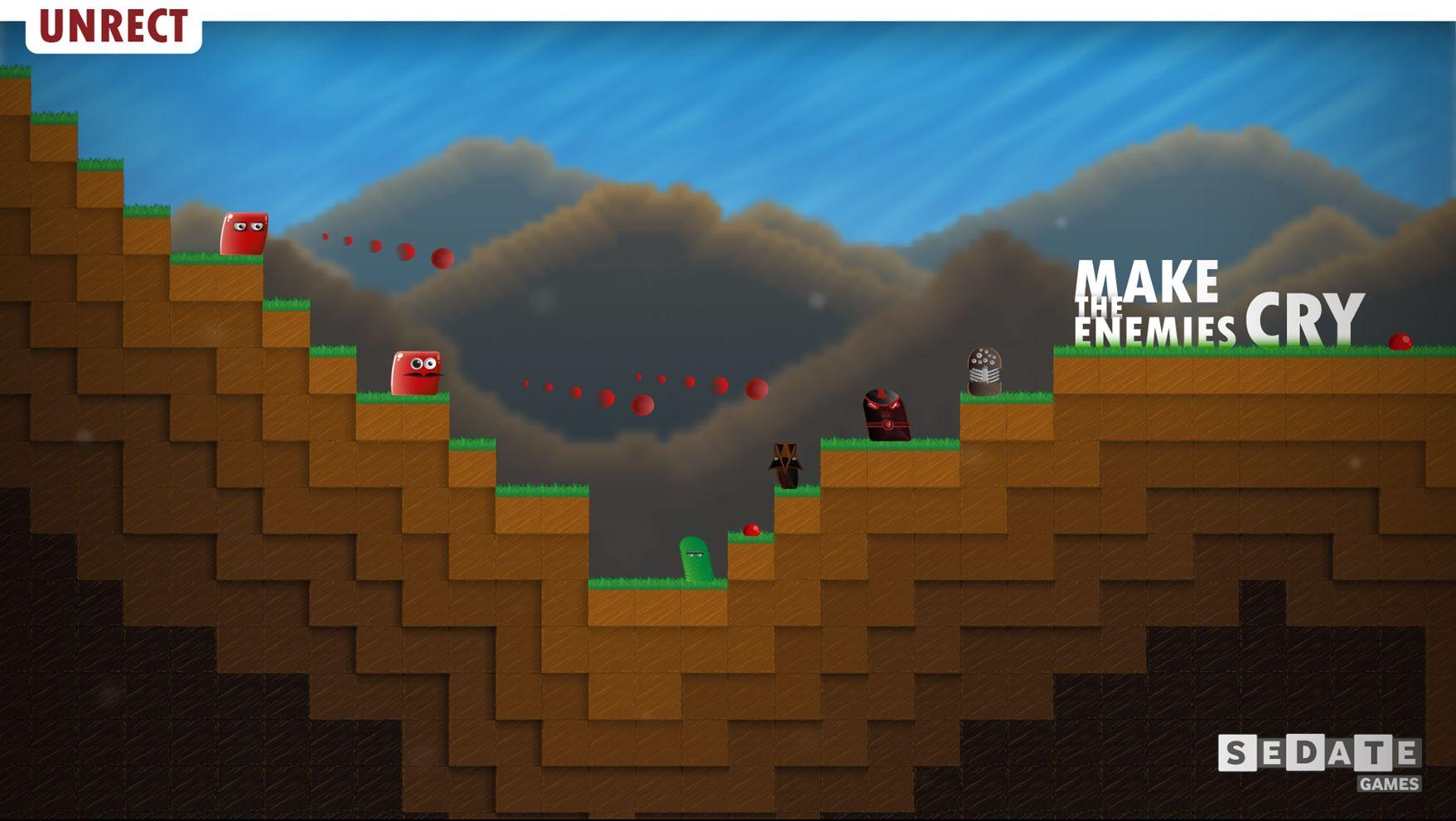 Yerli oyun Unrect yayınlandı!
