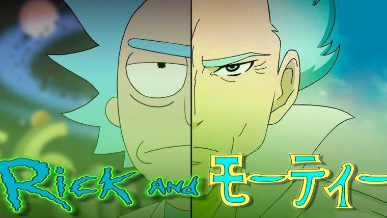 Rick And Morty Anime Olsaydi Nasil Gozukurdu
