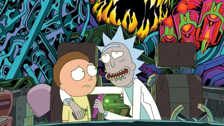 Sevilen dizi Rick and Morty'nin albümü çıktı!