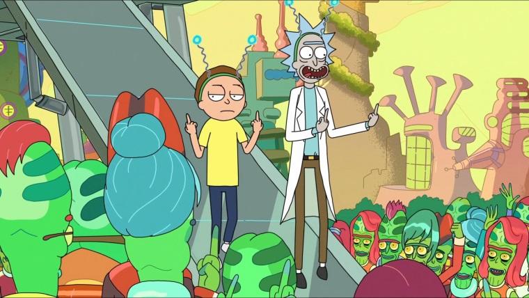 Rick and Morty'nin son bölümü 9.9 puan aldı