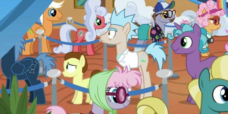 Rick and Morty'nin My Little Pony bölümünde ne işi var?