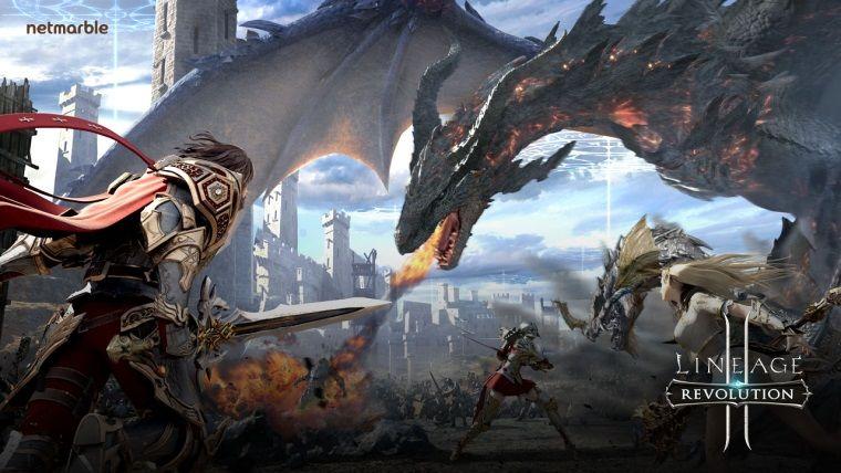 Lineage 2: Revolution'da 200 oyunculu Kale Kuşatması başladı