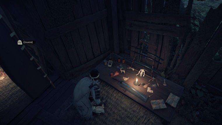 Ghost of Tsushima'dan diğer Sony oyunlarına gönderme