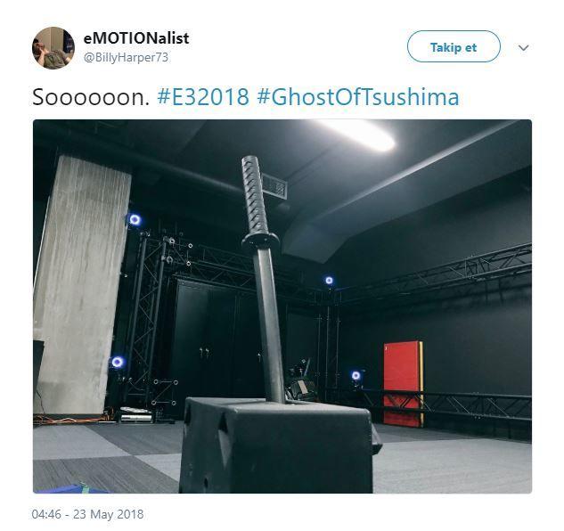 Sucker Punch Ghost Of Tsushima'nın E3 2018 sunumuna hazır