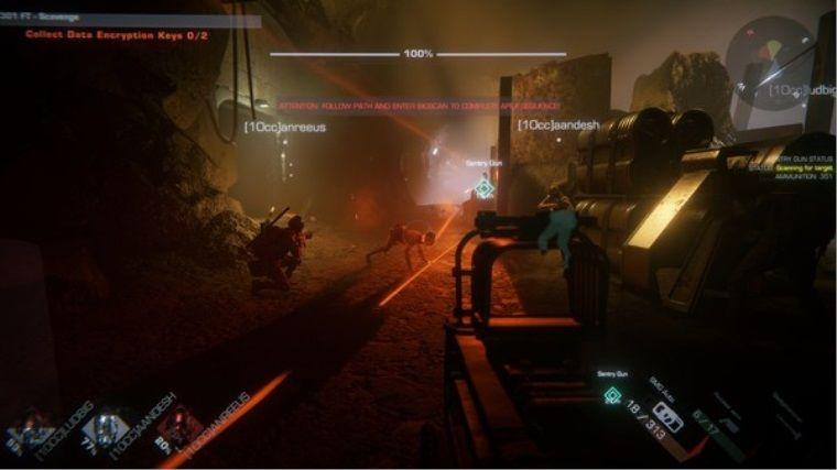 Korku ve aksiyon oyunu GTFO Erken Erişim'e açıldı