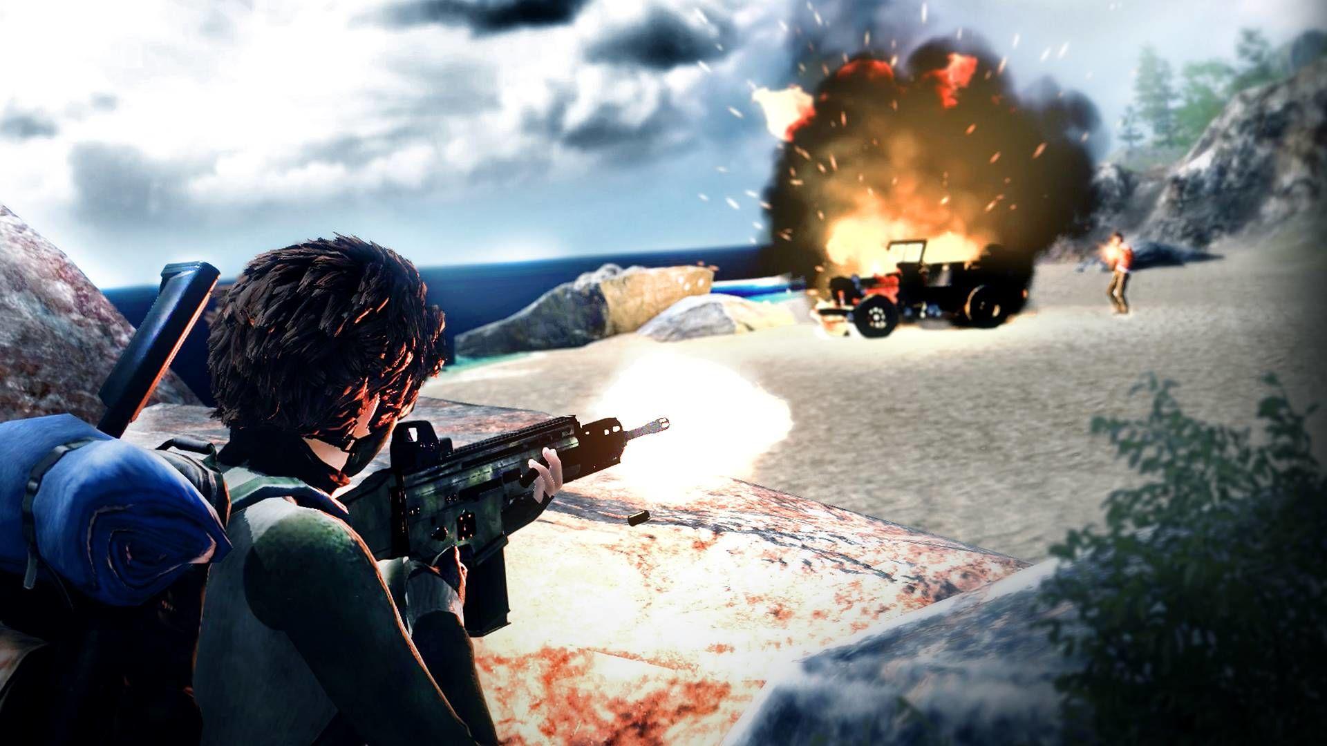 Another Bullet In The War: PUBG stili yeni oyundan görseller geldi