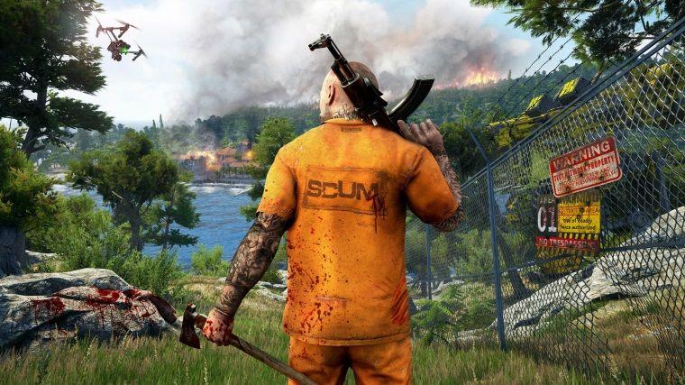 Devolver Digital'ın yeni oyunu SCUM'a ait mekaniklerini gösteren bir video yayınlandı