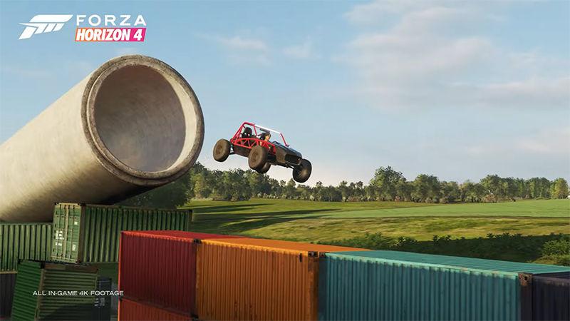 Forza Horizon 4 için Super7 oyun modu duyuruldu