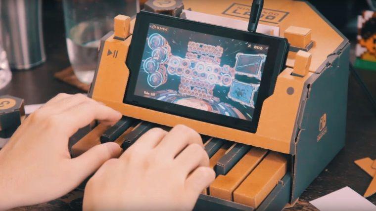 Sadece Nintendo Labo kullanarak yapılan müzikler ilgi çekiyor