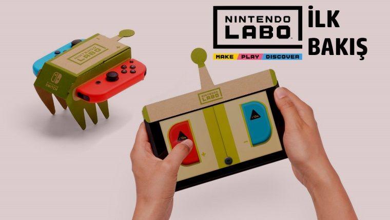 Nintendo Labo kutu açılışı ve RC Car kurulumu