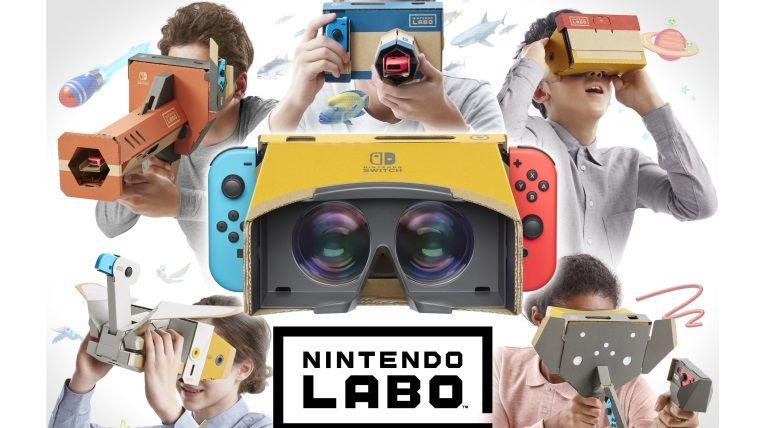 Yeni Nintendo Labo kit Switch'i sanal gerçeklik gözlüğüne çevirecek