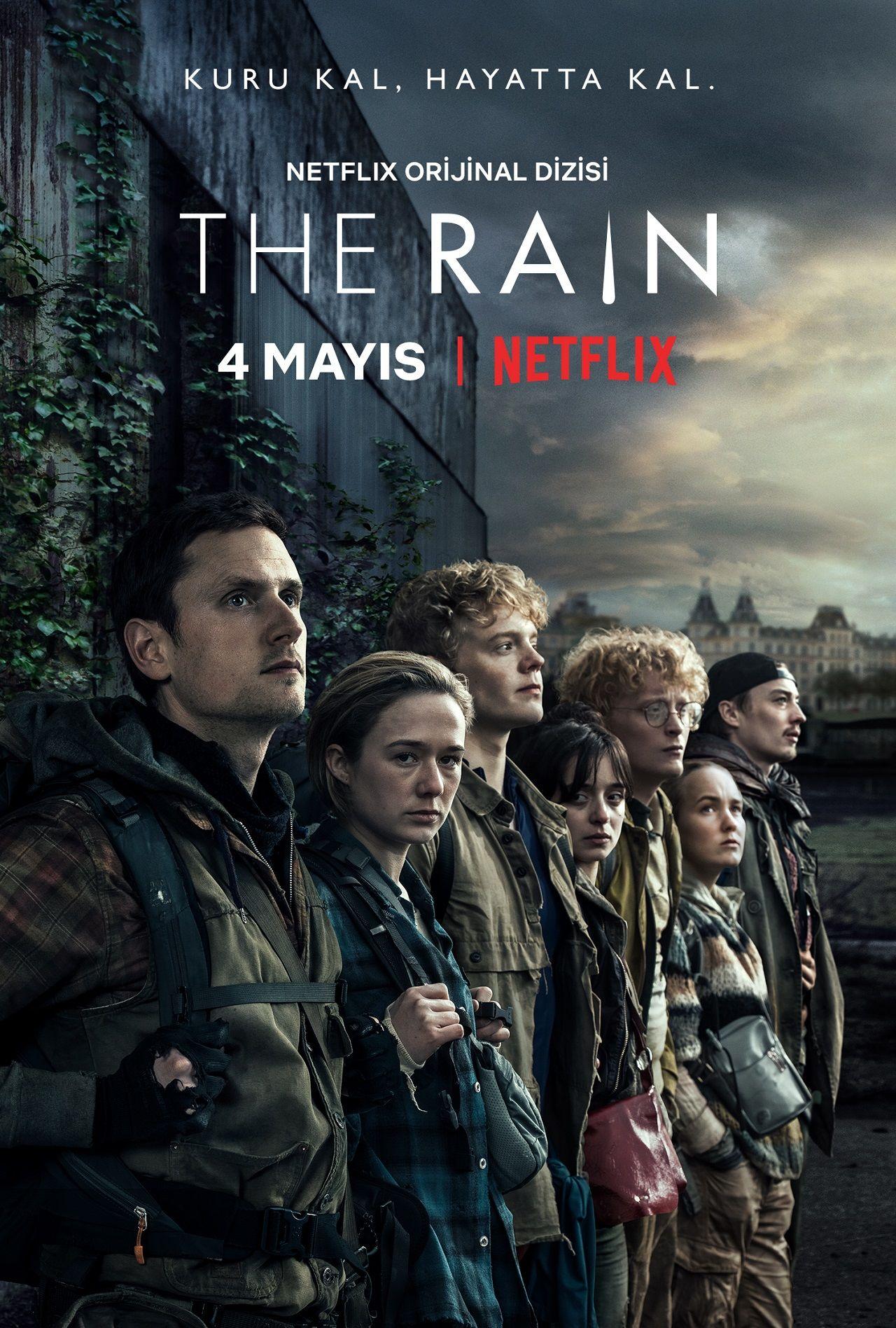 Netflix'in Rain dizisi için yeni fragman ve poster yayınlandı